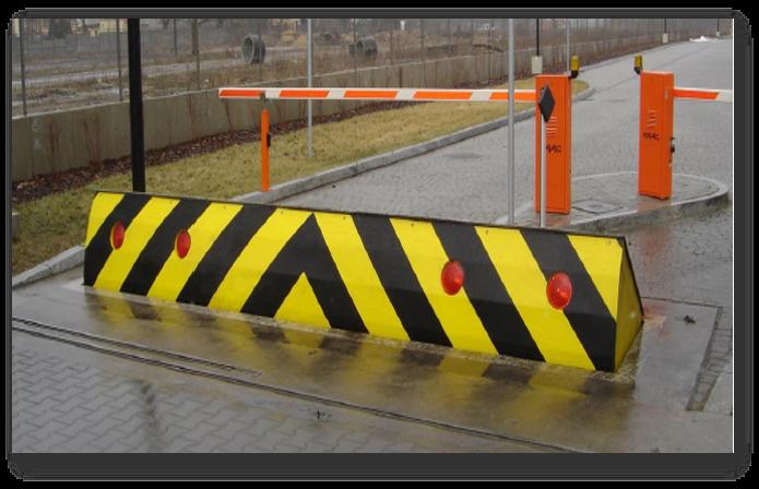 Блокираторы дорог, противотаранные заграждения