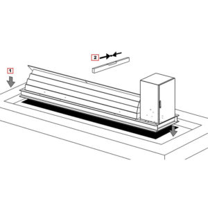 bk guard road blocker technical drawing specification