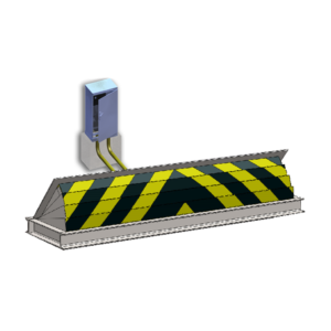 bk powerbeam road blocker machinery
