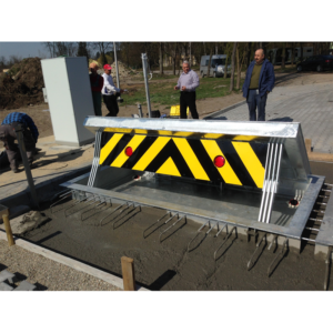 shallow mount installation road blocker