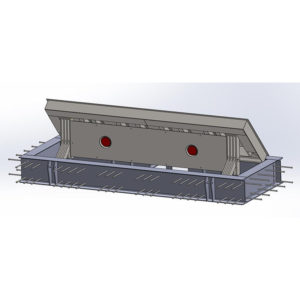 bk shield road blocker military