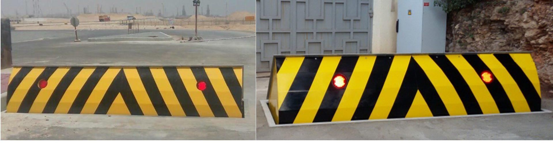 titan road blocker deep mounted underground